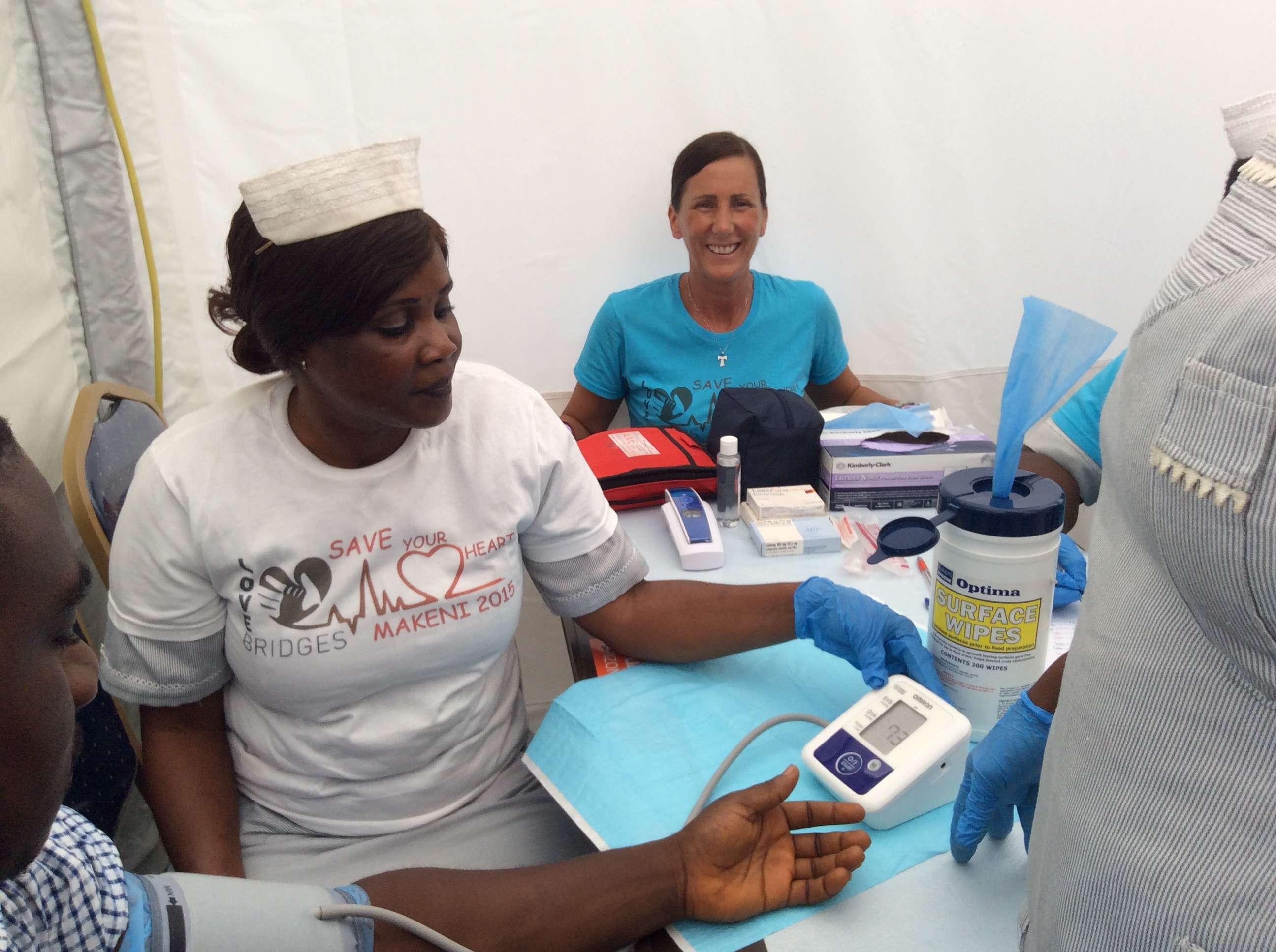 Makeni: settimana contro ipertensione e diabete..